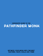 HeroSheets Guide to the Pathfinder Monk