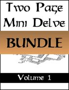 Two Page Mini Delves Vol. 1 [BUNDLE]