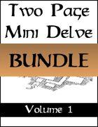 Two Page Mini Delves Vol. 1 [BUNDLE]