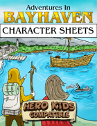 Character Sheets - Hero Kids Compatible
