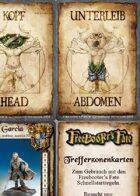 Freebooter's Fate Schnellstart-Spielkarten deutsche Version