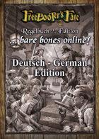 Freebooter's Fate 2. Edition Regelbuch - Bare bones online!