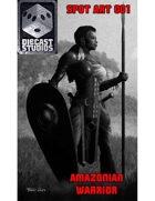 Amazonian Warrior (Spot Art 001)