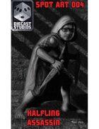 Halfling Assassin (Spot Art 004)