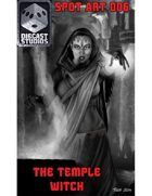The Temple Witch (Spot Art 006)