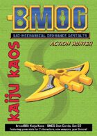 Kaiju Kaos: BMOG Stat Cards, Set 02 (Action Hunter)
