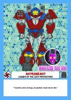 Kaiju Kaos: Astroblast Stat Card