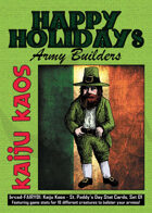 Kaiju Kaos: St. Paddy's Day Stat Cards, Set 01