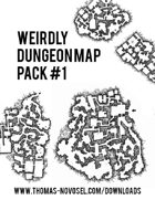 Weirdly Dungeon Map Pack #1