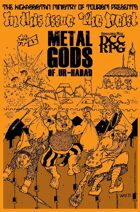 Metal Gods of Ur-Hadad #3, Spring 2015