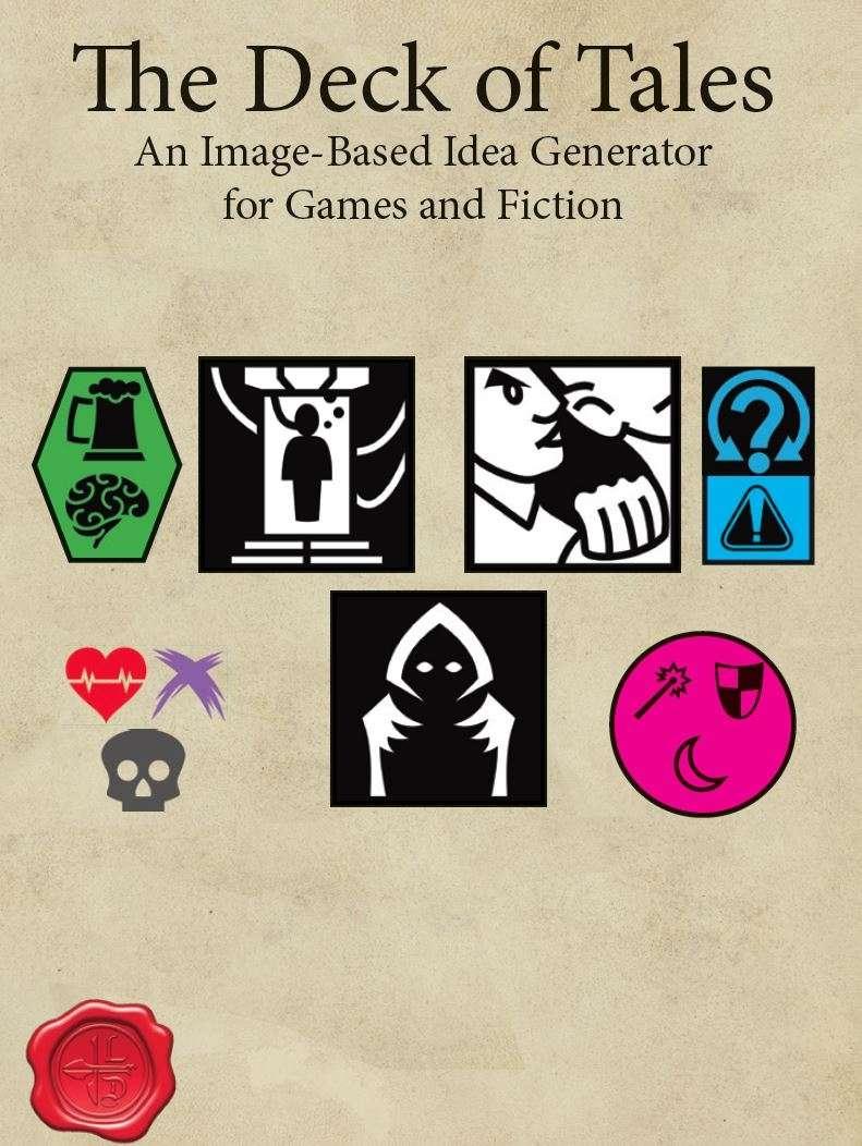 The Deck of Tales - Larcenous Designs, LLC | DriveThruRPG com