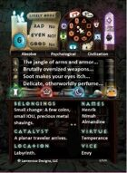 The GameMaster's Apprentice: Fantasy Deck
