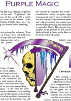 Colours of Magic: Purple 5e