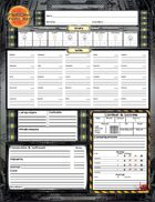 Shadows Over Sol: Character Sheets