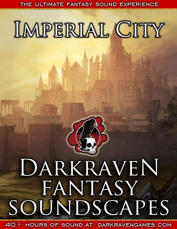 F/IC03 - The Great Imperial Bazaar - Imperial City - Darkraven RPG Soundscape