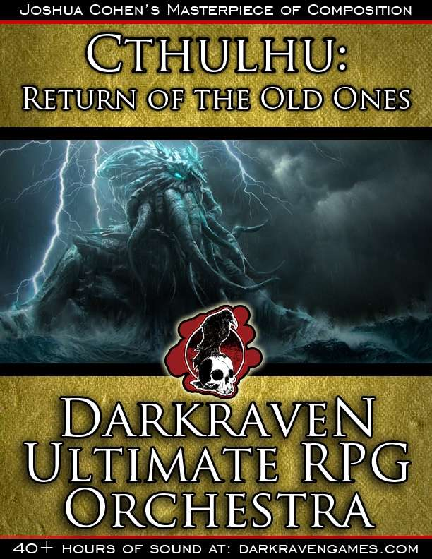 M/RO02 - Return to Dunwich - Cthulhu:Return of the Old Ones - Darkraven Ultimate RPG Orchestra