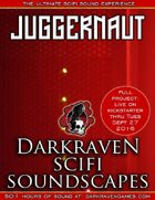 SF/J04 - Landing On An Alien Planet - Juggernaut 1 - Darkraven RPG Soundscape