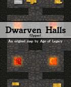 Age of Legacy - 'Dwarven Halls (Upper)' Game Map