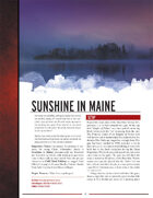 Sunshine in Maine
