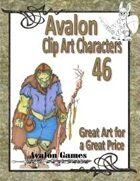 Avalon Clip Art Characters, Orc 5