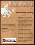 Avalon Adventures, Vol 3, Issue #4, That Sinking Feeling