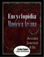 Arcana Journal #36