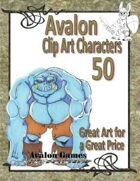 Avalon Clip Art Characters, Ogre