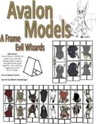 "Avalon Models, Evil Wizard, ""A"" Frame"