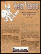 Avalon Treasure, Vol 2, Issue #4, Mundane Treasures from Magic Users