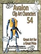 Avalon Clip Art Characters, Alien 14