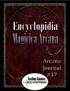 Arcana Journal #37