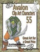 Avalon Clip Art Characters, Troll