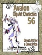 Avalon Clip Art Characters, Robot 1