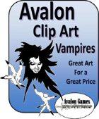 Avalon Clip Art, Vampires