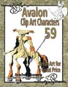Avalon Clip Art Characters, Alien 17