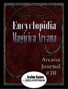 Arcana Journal #38