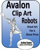 Avalon Clip Art, Robots