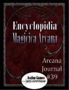 Arcana Journal #39