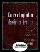 Arcana Journal #40