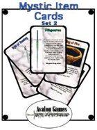 Mystic Item Cards, Set 2