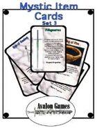 Mystic Item Cards, Set 3