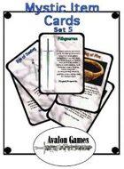 Mystic Item Cards, Set 5