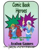 Comic Book Heroes, Set #1, Mini-Game #25
