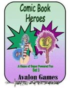 Comic Book Heroes, Set #3, Mini-Game #31