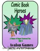 Comic Book Heroes, Set #4, Mini-Game #34