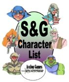 S&G Character List