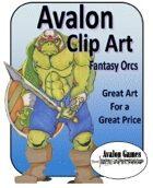 Avalon Clip Art, Fantasy Orcs