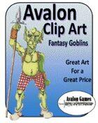 Avalon Clip Art, Fantasy Goblins