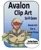 Avalon Clip Art, Sci-Fi Genre