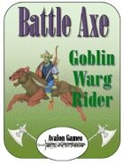 Battle Axe Warg Riders